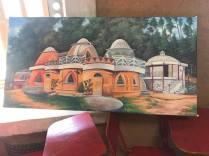 Artist rendition of the school